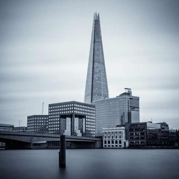 Travel photography England: The Shard and surrounds, London.