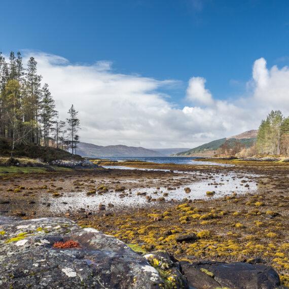 Travel photography Scotland: Sàilean nan Cuileag, 'The Bay of the Flies', near Salen, Ardnamurchan, Scotland.