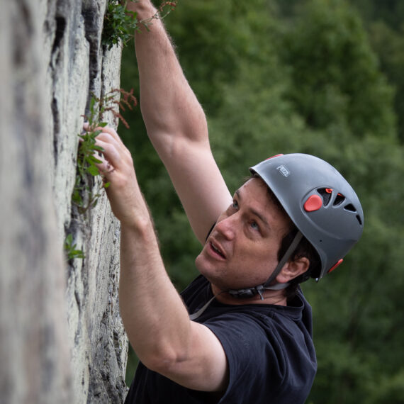 Portrait photography news and features: Climbers at Kingussie Crag, Cairngorms National Park, Scotland, UK.