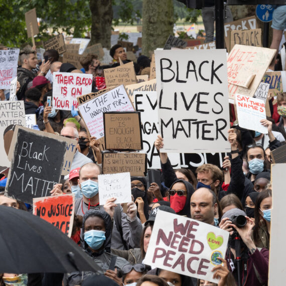Black Lives Matter protest photography by Andy Wasley